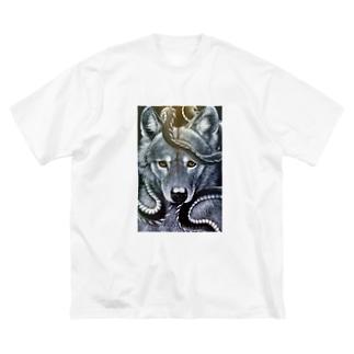 波 Big Silhouette T-Shirt