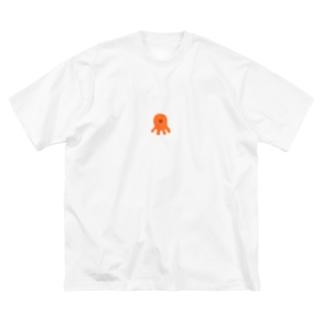 たこさん Big Silhouette T-Shirt