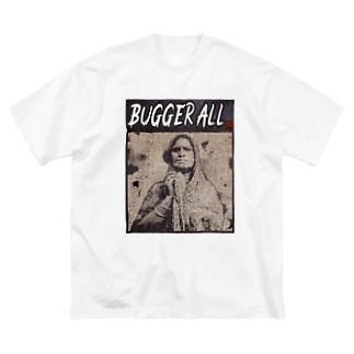 BUGGER ALL Big Silhouette T-Shirt