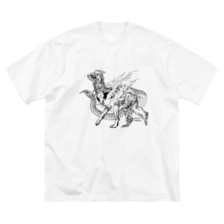 十二支之図 寿 Big Silhouette T-Shirt