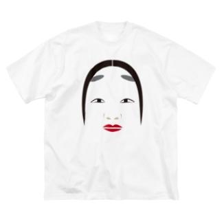 能面 Big silhouette T-shirts
