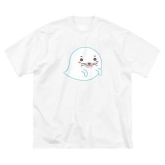 オバケあざらし Big Silhouette T-Shirt
