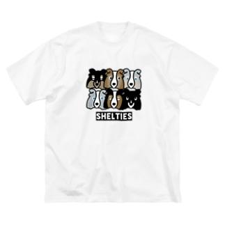 シェルティーず Big Silhouette T-Shirt