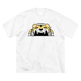 トラがガーーーーーーッ!でかっ Big T-shirts