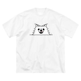ポメラニアンがでかっ!*しかも怒っ! Big T-shirts