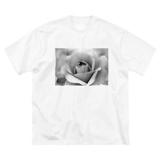 mono rosa Big silhouette T-shirts