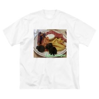 English breakfast Big silhouette T-shirts