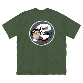 チルサマーアース(GREY) Big silhouette T-shirts