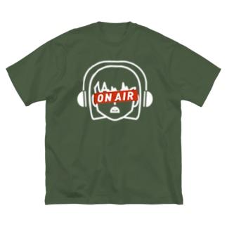 wsnの水曜日のカンパン Big silhouette T-shirts