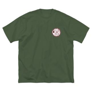 ファンキーロゴ小★Pretty Beagles Big silhouette T-shirts