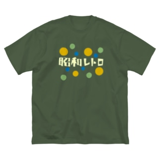 昭和レトロ Big silhouette T-shirts