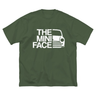 THE MINI FACE Big silhouette T-shirts