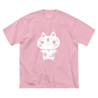 ウメ花ちゃんのシルエット Big silhouette T-shirts