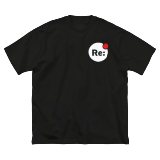 ReMeetアイコンDark Big silhouette T-shirts