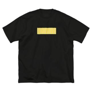 かおくん Big silhouette T-shirts