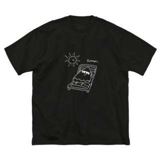 タケノコ Summer!!!(特典つき) Big silhouette T-shirts