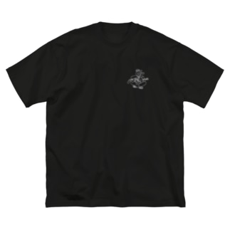 Tシャツ Big silhouette T-shirts