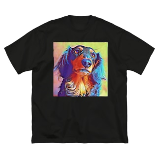 ダックス Big silhouette T-shirts