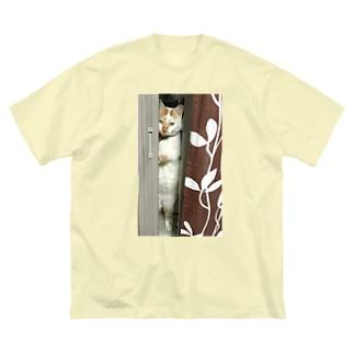 シャイゴマ Big silhouette T-shirts