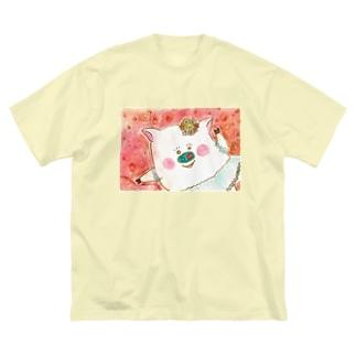 風にスイングドロシー Big Silhouette T-Shirt