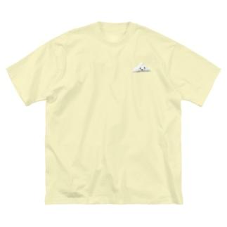 はんぺん白太郎 Big silhouette T-shirts