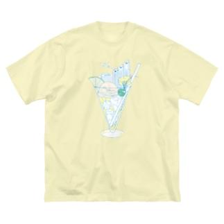 Shinjuku☆SODA Big silhouette T-shirts