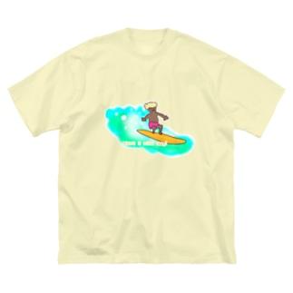surfer boy Big silhouette T-shirts