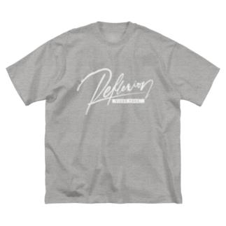 REFLEXION videopark (white) Big silhouette T-shirts