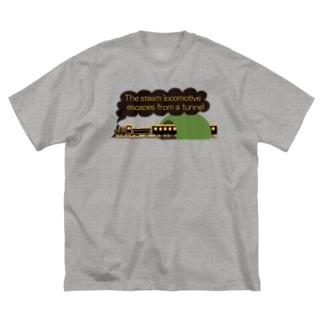 スチームトレイン Big T-shirts
