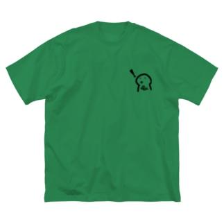 なるほどー Big silhouette T-shirts