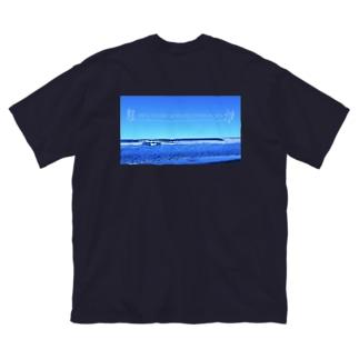 背中プリント また輝く日まで Big Silhouette T-Shirt