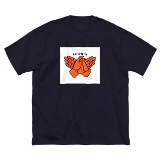 hatsutorin-Logo Big silhouette T-shirts