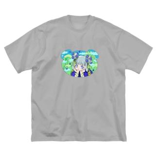 くま🧸 Big silhouette T-shirts