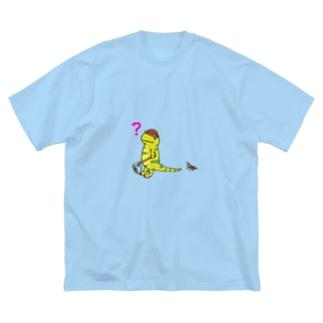 タイガーサラマンダー  Big silhouette T-shirts