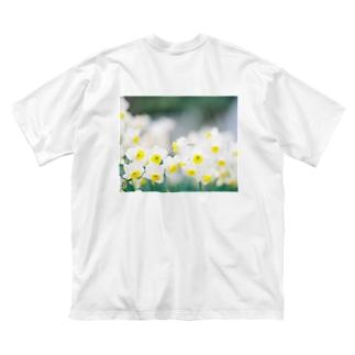 「水仙」 KODAK PORTRA 400 Big silhouette T-shirts