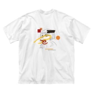 ennui [バックプリント] Big silhouette T-shirts