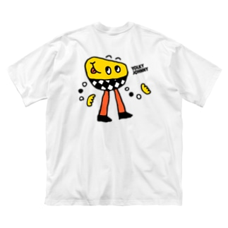 YOLKY JOHNNY Big silhouette T-shirts
