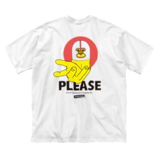 ちょーだい Big silhouette T-shirts