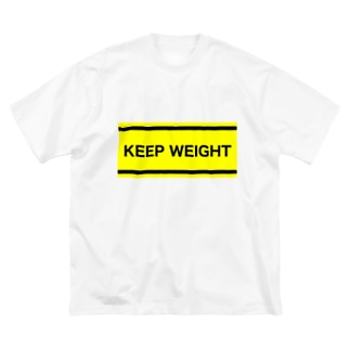 KEEP WEIGHT⚠️ Big silhouette T-shirts