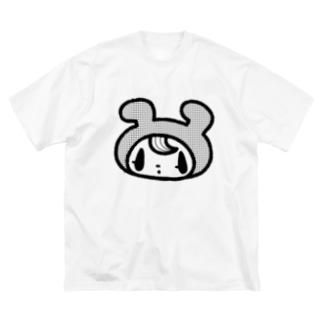 きぐるみくんTシャツ Big silhouette T-shirts