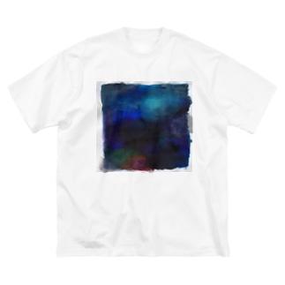 しかく Big silhouette T-shirts