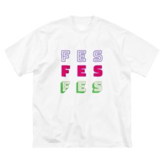 fes! fes!fes! Big silhouette T-shirts
