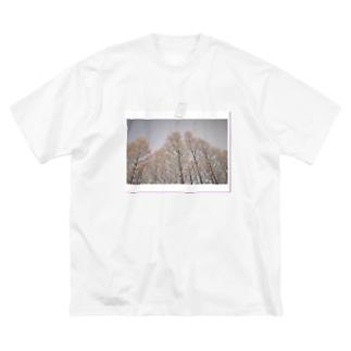 旅シリーズ 凛 Big silhouette T-shirts