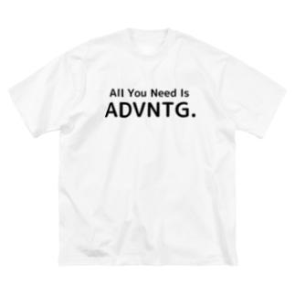 ADVNTG.ビッグT Big silhouette T-shirts