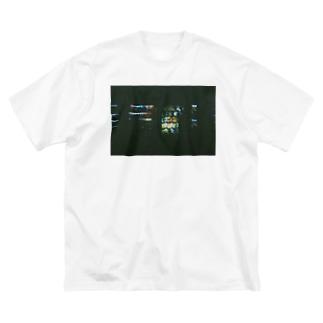 フィルム自販機T Big silhouette T-shirts