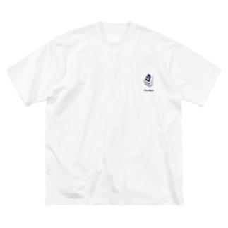 ゲーセンのアレ Big silhouette T-shirts