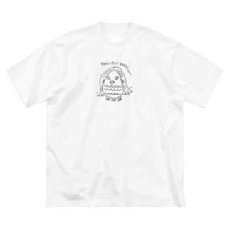 THIS IS 呼びました! Big silhouette T-shirts