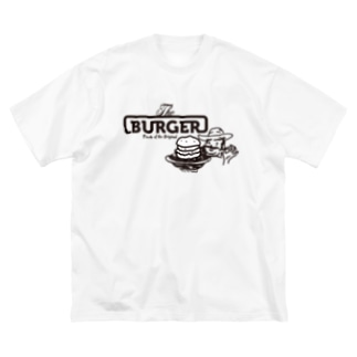 The BURGER Uncle Big silhouette T-shirts