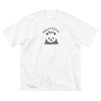 パンダ(escritórioROCA/2) Big Silhouette T-Shirt