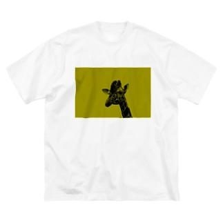 キリン Big silhouette T-shirts